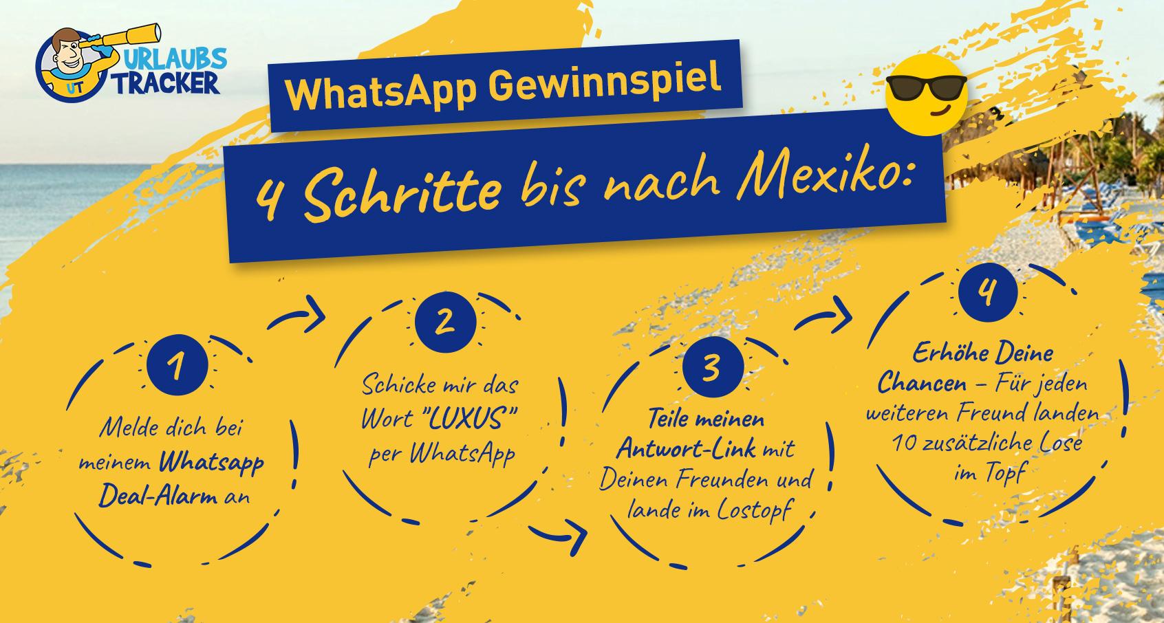 WhatsApp Gewinnspiel Info