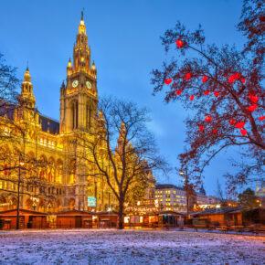 Winter-Wochenende in Wien: 2 Tage im TOP 4* Hotel mit Wellness nur 27€