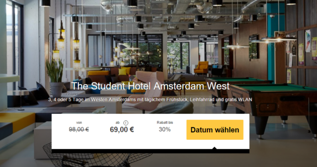 The Student Hotel Amsterdam West Holidaycheck