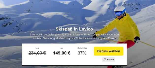 4-8 Tage Skiurlaub Südtirol