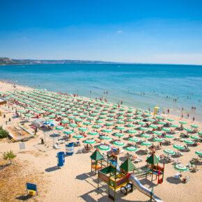 Bulgarien: 7 Tage Sonnenstrand im TOP 4* AWARD Hotel mit All Inclusive, Flug, Transfer & Zug nur 299€