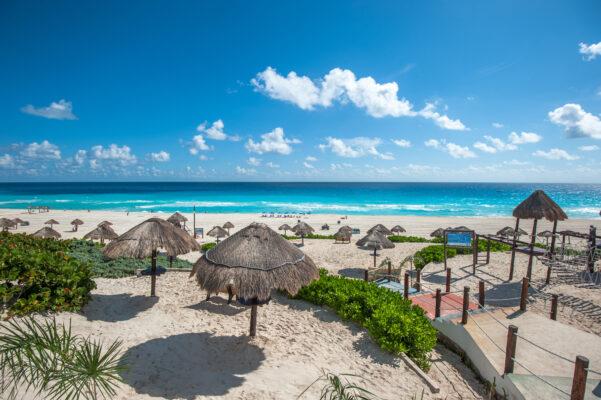 Defin Strand Cancun, Mexiko