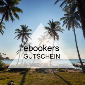 ebookers Gutschein - 15% Rabatt auf Buchungen