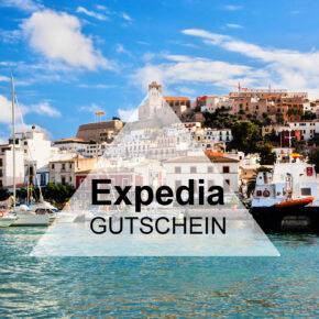 Expedia Gutschein: 8% auf Hotels & 10€ auf Events & Tickets sparen