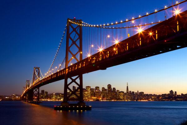 San Francisco Bay Bridge & Skyline