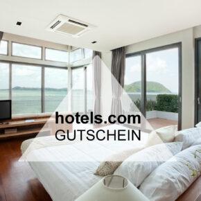 Hotels.com Gutschein - 8% sparen bei der Hotelbuchung