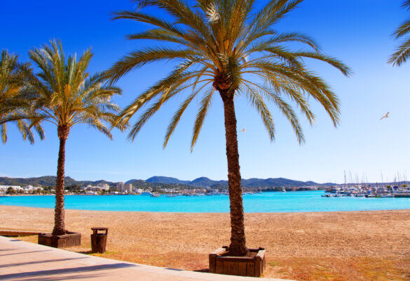 Ibiza Sant Antoni de Portmany Abad Strand