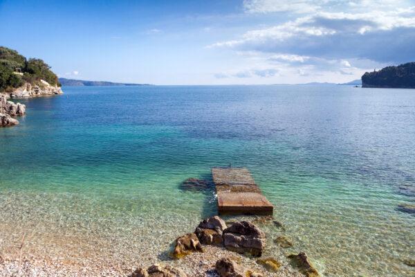 Korfu Strand Kalami Bucht