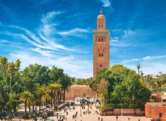 Zentrum Marrakesch