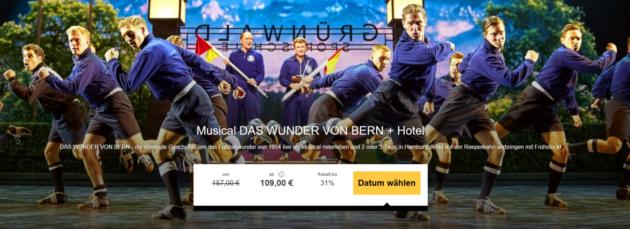 Musical Das Wunder von Bern
