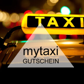 mytaxi Gutschein: 50% Rabatt auf Deine Fahrt