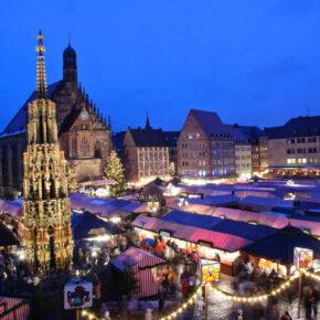 Nürnberger Weihnachtsmarkt: 2 Tage im zentralen TOP 4* Hotel mit Sauna nur 34€