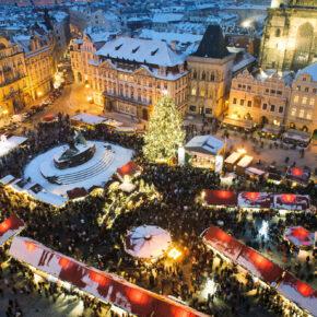 Winter in Prag: 3 Tage im 4* Hotel mit Frühstück nur 35€
