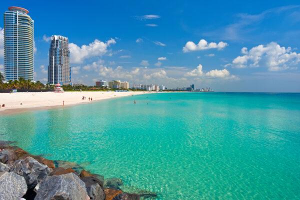 South Beach, Miami in Florida