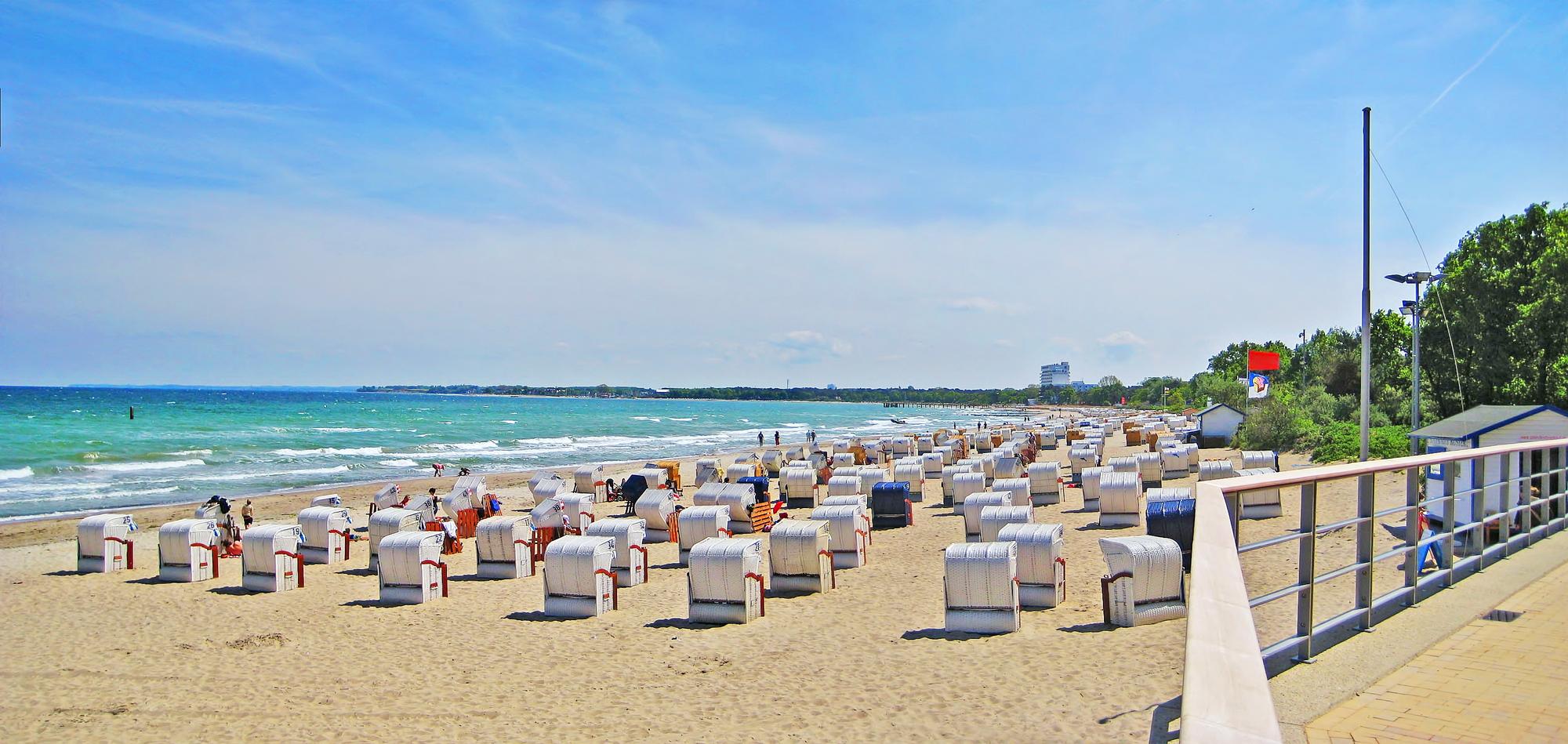 Urlaub am Timmendorfer Strand: 4 Tage an die Ostsee am Wochenende mit Hotel für 142€