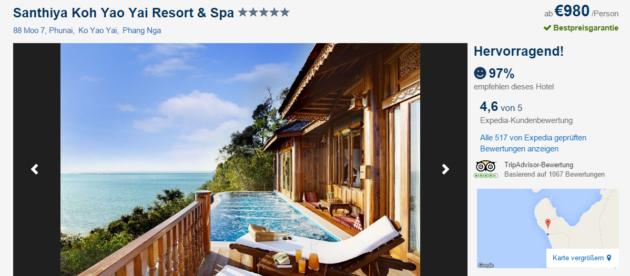 15 Tage Luxus auf Koh Yao Yai