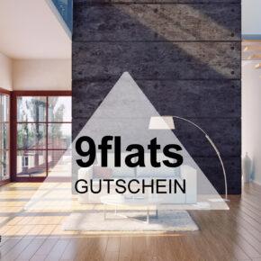 9flats Gutschein - 10 € bei der Buchung von Ferienwohnungen und privaten Unterkünften sparen