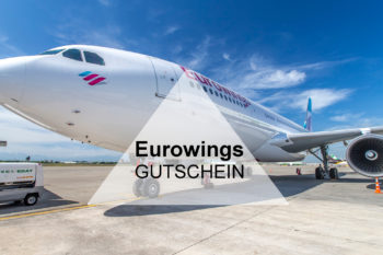 Eurowings Gutschein: 10€ Rabatt auf Eure Flugbuchung