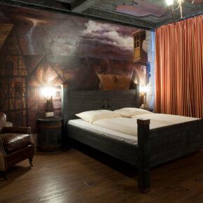 Heide Park Abenteuerhotel Dämonenzimmer Premium