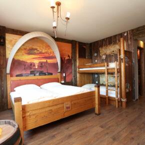 Heide Park Abenteuerhotel Westernzimmer Premium