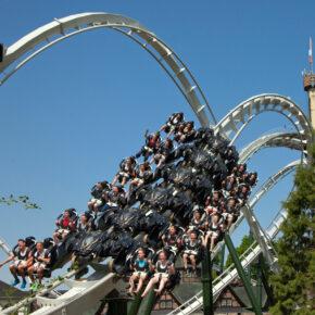 Heide Park Resort Attraktion Flug der Dämonen