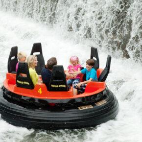 Heide Park Resort Attraktion Mountain Rafting