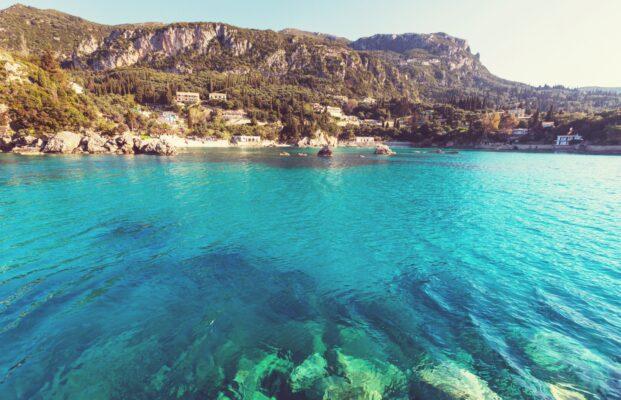 Korfu Schnäppchen Landschaft