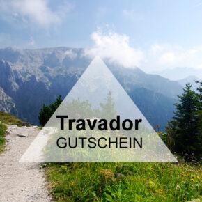 Gutschein für Travador: Spart 301€ auf Eure Urlaubs-Geschenkbox