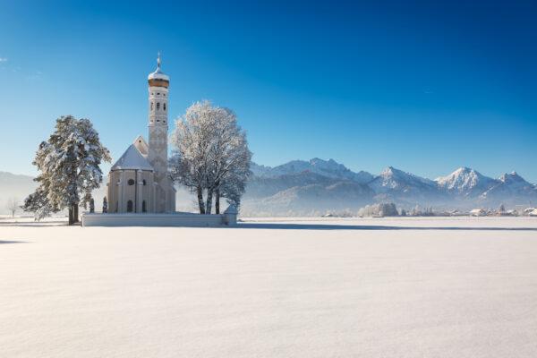 Allgäu im Schnee