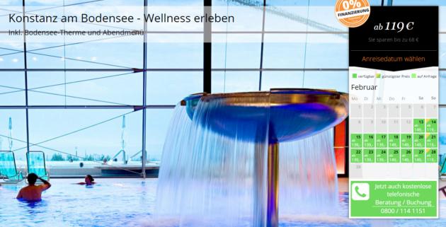 Bodensee Wellness Schnäppchen