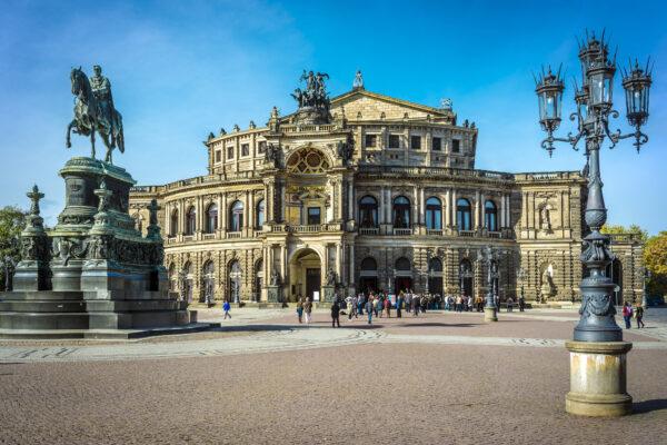Kurztrip Dresden Semperoper