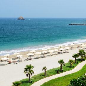 7 Tage arabische Emirate im TOP 4* Hotel mit Frühstück, Zug & Transfer nur 335€