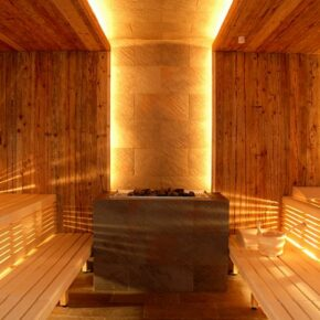 Hotel Bleibergerhof Sauna