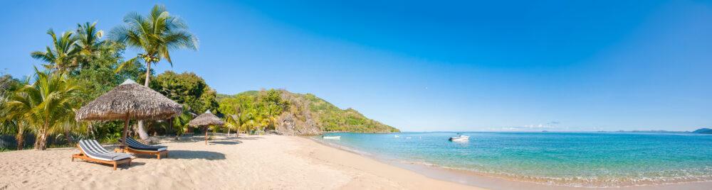 Karibik Tropischer Strand