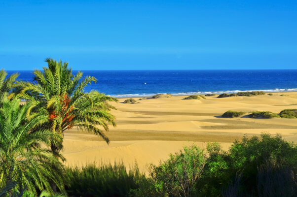 Düsenen Maspalomas auf Gran Canaria