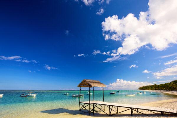 Mauritius Meer Steg