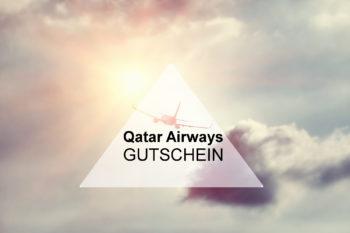 Qatar Airways: 429€ Gutschein auf Eure Buchung