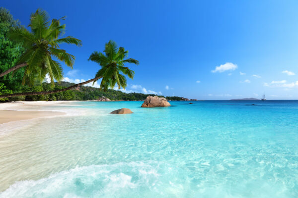 Seychellen Insel Praslin Lazio Beach