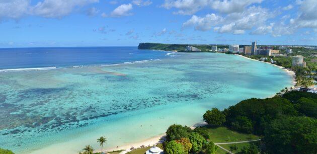 Südsee Insel Guam Strände