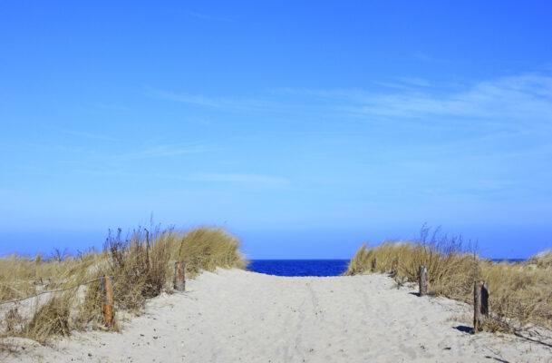 Usedom Weg zum Strand