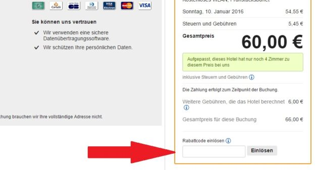 vendere.com Gutschein