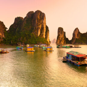3 Wochen Asien Rundreise: Thailand, Kambodscha, Vietnam mit allen Flügen & Bussen ab 437€