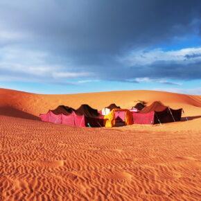 8 Tage Marrakesch inkl. Kameltour, Sahara-Camp, Frühstück & Vollpension, Flug & Transfers ab 349€