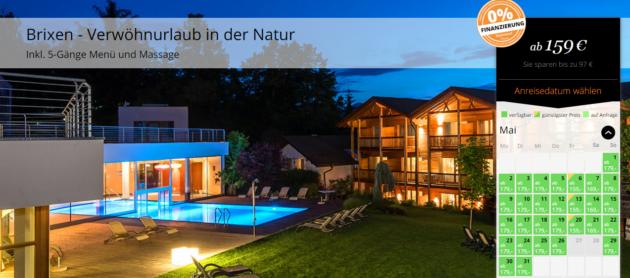Wellness in Brixen Hotel Fischer