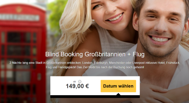 Blindbooking GB