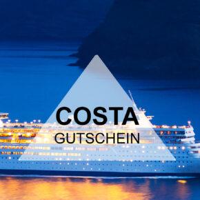 Costa Gutschein - 200 € bei der Buchung Eurer Kreuzfahrt sparen
