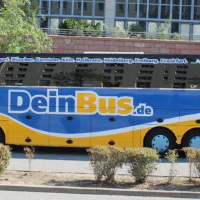 Deinbus: 1000 Tickets quer durch Deutschland nur 1€