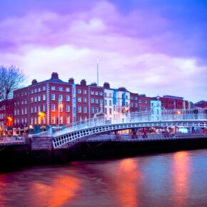 Partytrip: 2 Tage Dublin mit TOP Unterkunft & Flug nur 31€