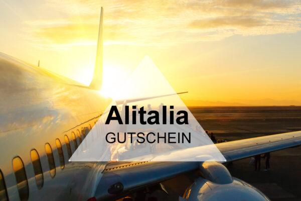 Alitalia Gutschein