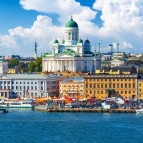 Kreuzfahrt + Städtetrip: 4 Tage Ostsee-Kreuzfahrt nach Helsinki mit Vollpension nur 289€